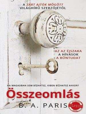 cover image of Összeomlás