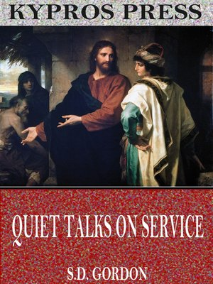 cover image of Quiet Talks on Service