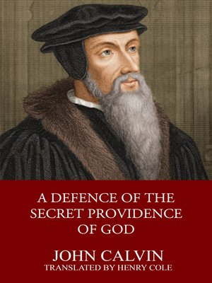 cover image of A Defence of the Secret Providence of God
