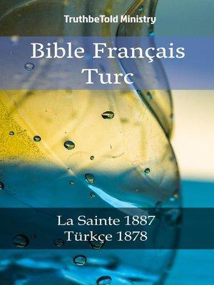 cover image of Bible Français Turc