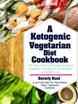cover image of Ketogenic Vegetarian Diet Cookbook