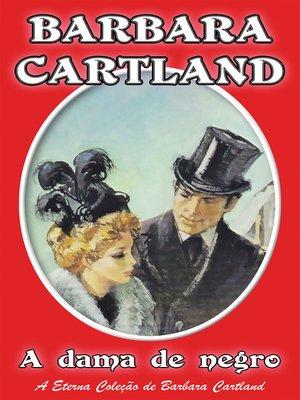 cover image of A dama de negro