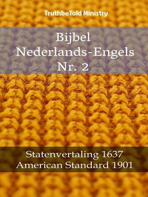 cover image of Bijbel Nederlands-Engels Nr. 2