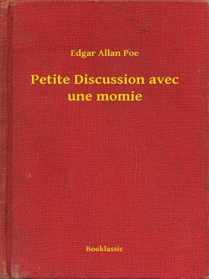 cover image of Petite Discussion avec une momie