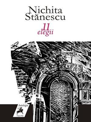 cover image of 11 elegii