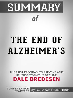 cover image of Summary of the End of Alzheimer's