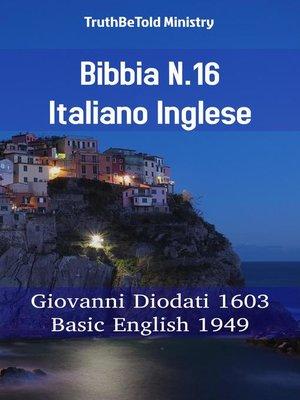 cover image of Bibbia N.16 Italiano Inglese