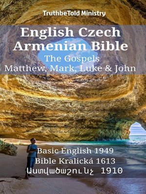 cover image of English Czech Armenian Bible--The Gospels--Matthew, Mark, Luke & John