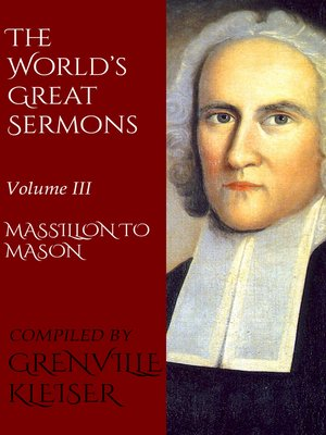 cover image of The World's Great Sermons