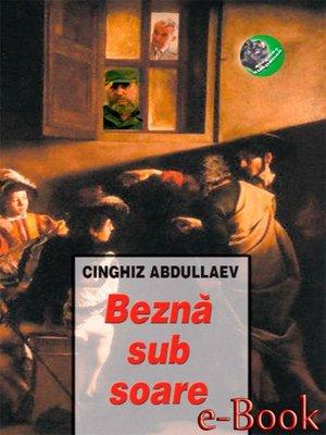 cover image of Beznă sub soare