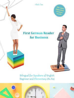 cover image of First German Reader for Business