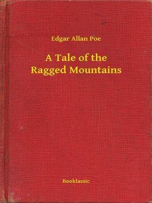 cover image of A Tale of the Ragged Mountains
