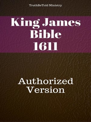 cover image of King James Version 1611