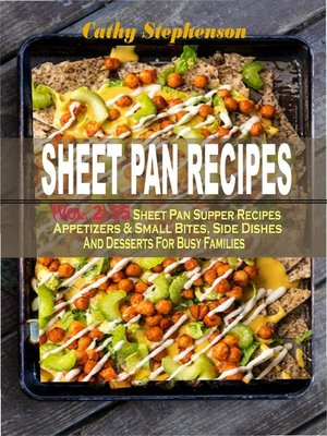cover image of Sheet Pan Recipes