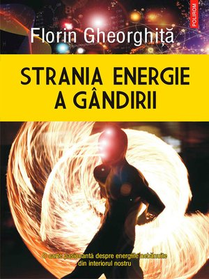 cover image of Strania energie a gândirii