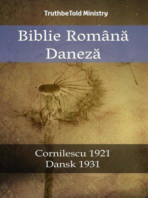cover image of Biblie Română Daneză