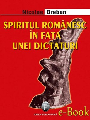 cover image of Spiritul românesc în fața unei dictaturi
