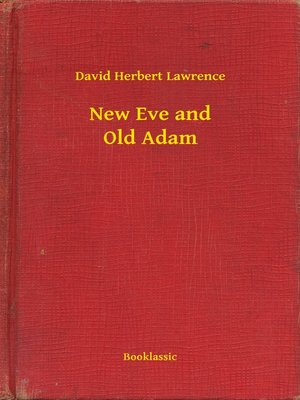 cover image of New Eve and Old Adam