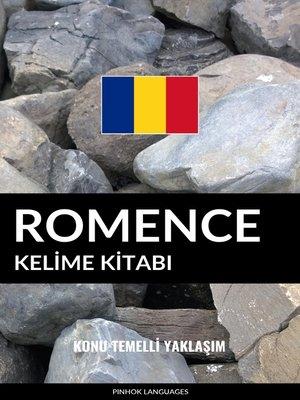cover image of Romence Kelime Kitabı