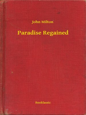 cover image of Paradise Regained
