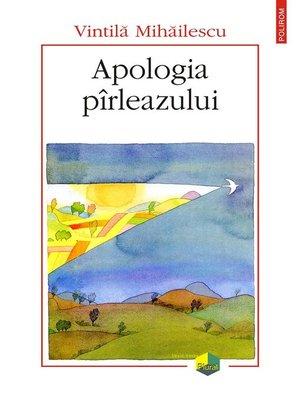 cover image of Apologia pîrleazului
