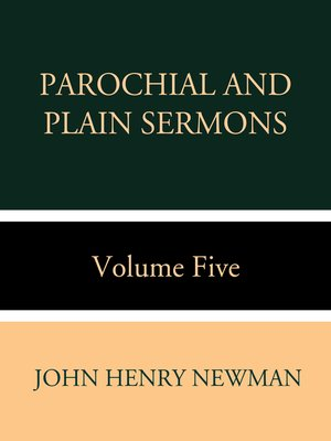 cover image of Parochial and Plain Sermons Volume Five
