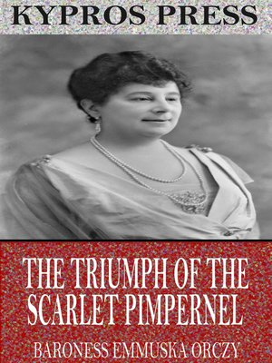 cover image of The Triumph of the Scarlet Pimpernel