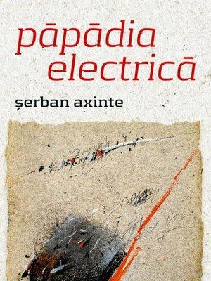 cover image of păpădia electrică