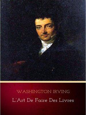 cover image of L'Art de faire des livres