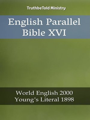cover image of English Parallel Bible XVI