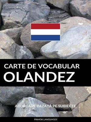 cover image of Carte de Vocabular Olandez