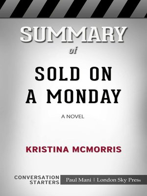 cover image of Summary of Sold on a Monday
