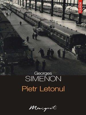 cover image of Pietr Letonul