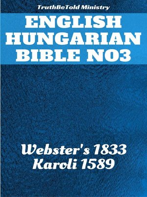 cover image of English Hungarian Bible No3