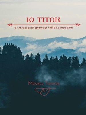 cover image of 10 titok