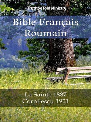 cover image of Bible Français Roumain