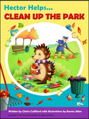 cover image of Hector Helps Clean Up the Park