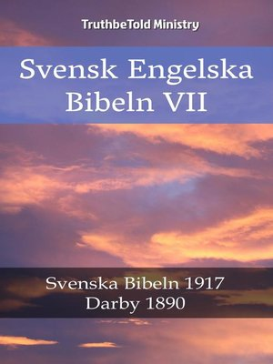 cover image of Svensk Engelska Bibeln VII