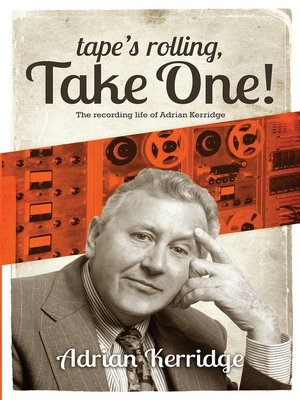 """cover image of """"Tape's Rolling, Take One"""""""