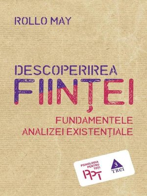 cover image of Descoperirea ființei. Fundamentele analizei existențiale