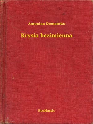 cover image of Krysia bezimienna