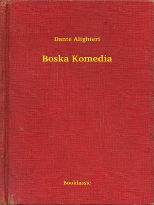 cover image of Boska Komedia