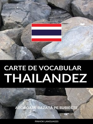 cover image of Carte de Vocabular Thailandez