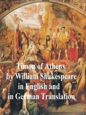 cover image of Timon of Athens/ Timon von Athen