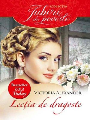 cover image of Lecția de dragoste