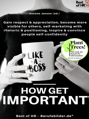 cover image of Like a Boss--How get Important