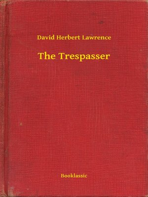 cover image of The Trespasser