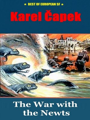 cover image of The War with the Newts