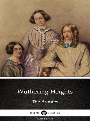 cover image of Wuthering Heights by Emily Bronte (Illustrated)