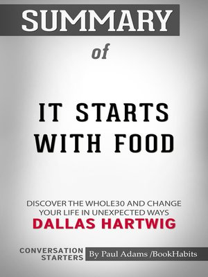 cover image of Summary of It Starts With Food
